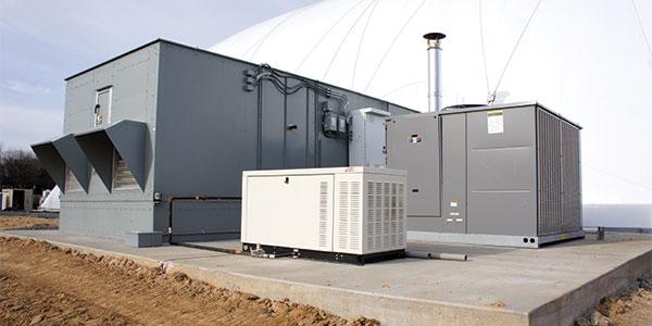 Inflatable Air Dome HVAC