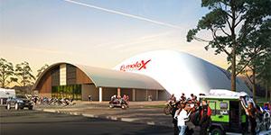 Indoor Motor Sports Dome