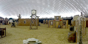 Paintball Entertainment Dome Indoor Facility