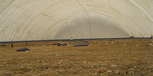 Waste Remediation Processing Landfill Cover